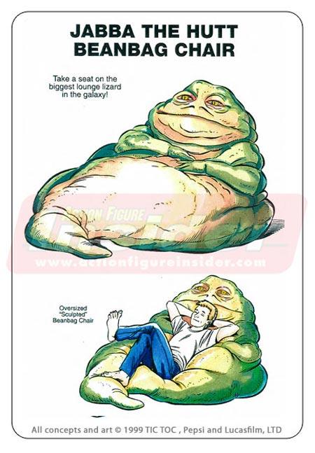 Jabba-beanbag